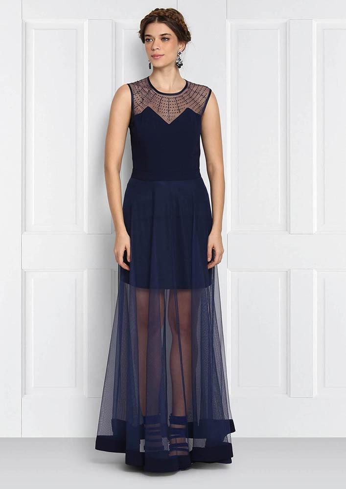 BEATRIX BLUE DRESS