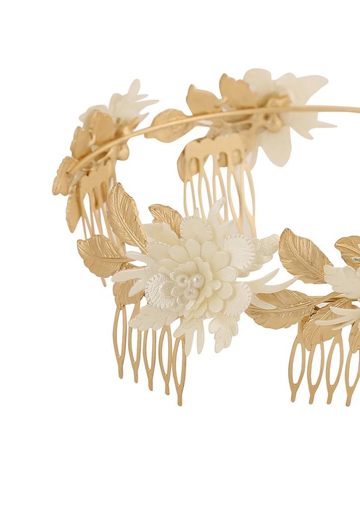 Mystic garden floral hairband
