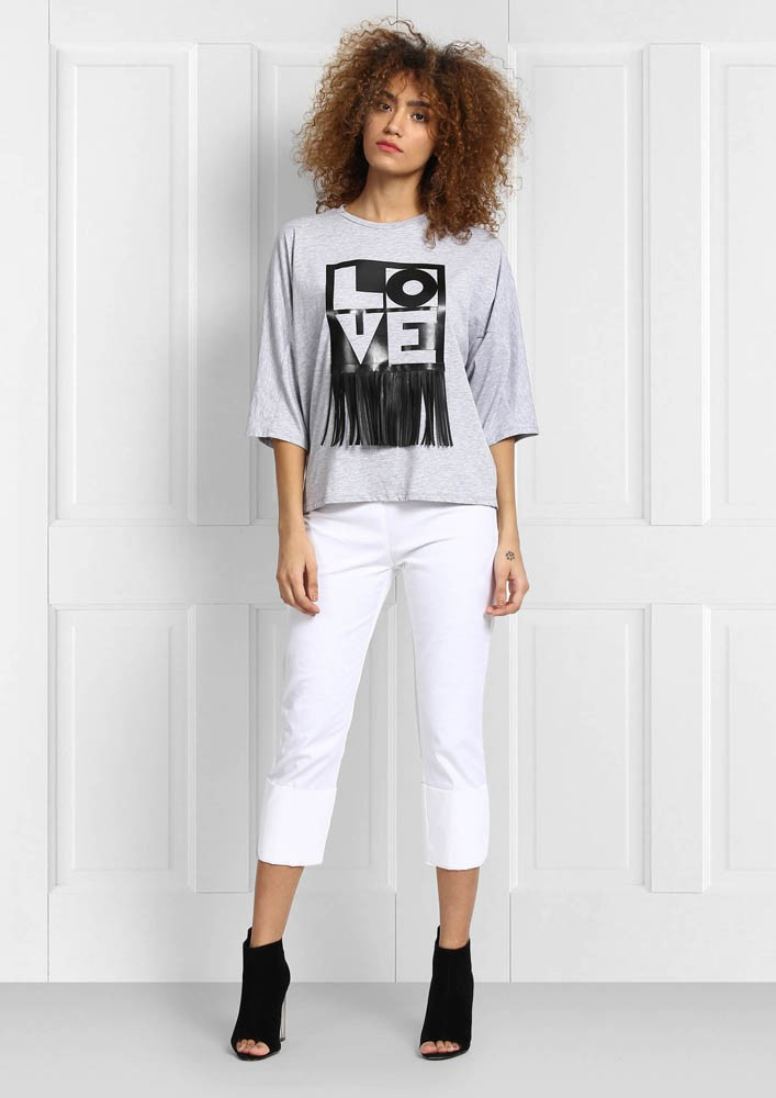 Love Fringes Tshirt