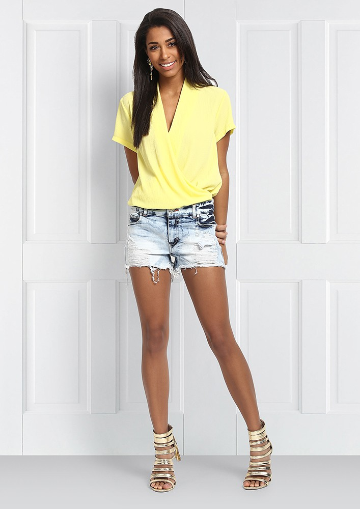 Lemon Yellow Bodysuit