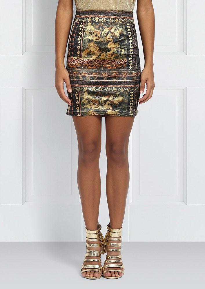 Earthy Toned Skirt