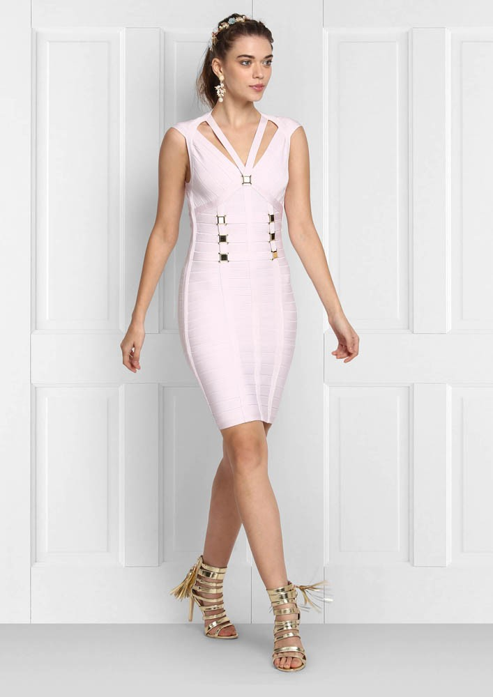 BABY PINK BODYCON