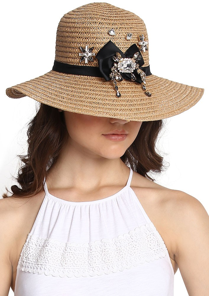 Wide Rim Straw hat