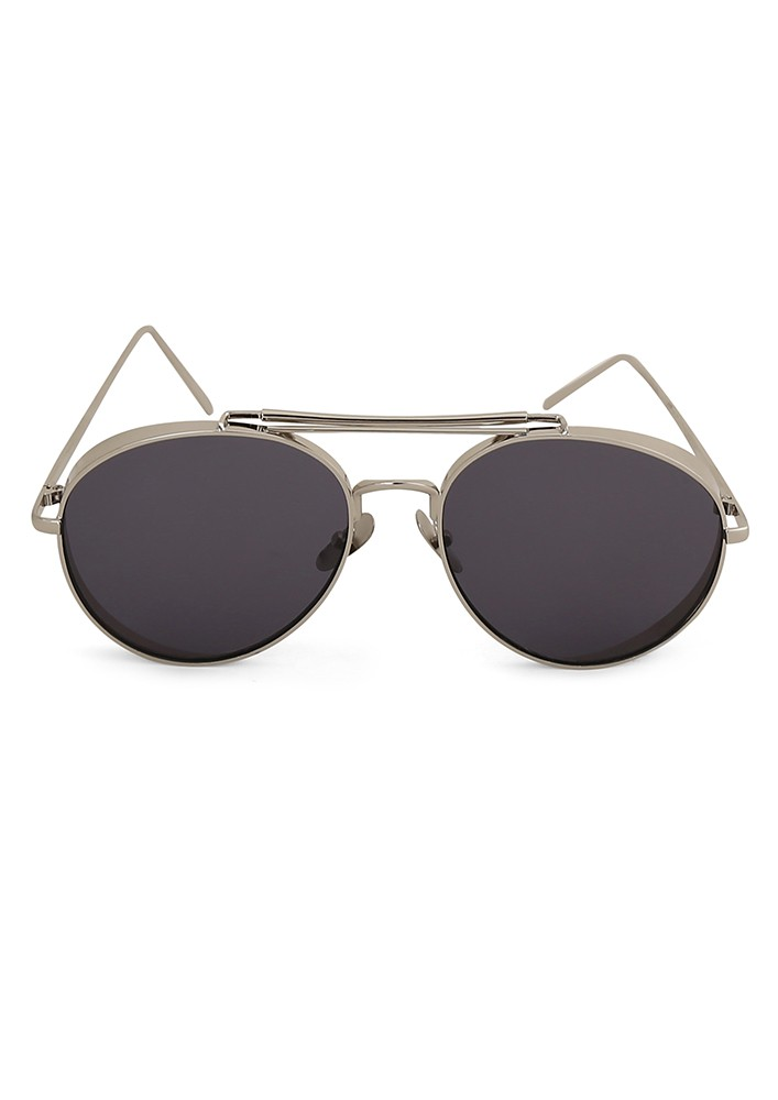The All Rounder Sunglasses With Black Mirror Lens.