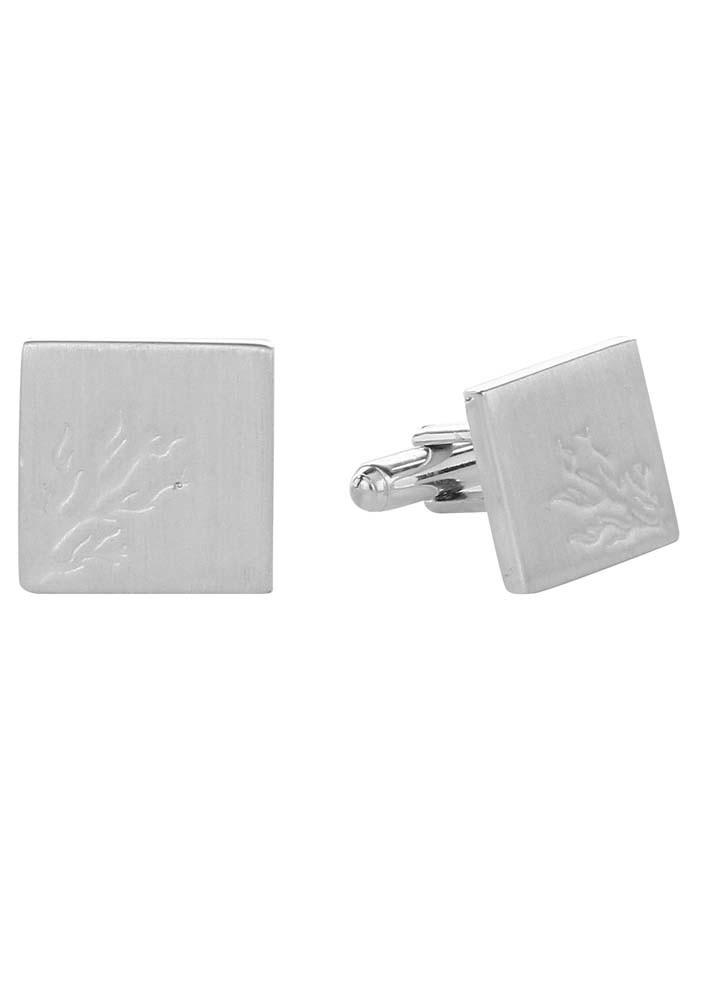 Engraved Tree Cufflinks