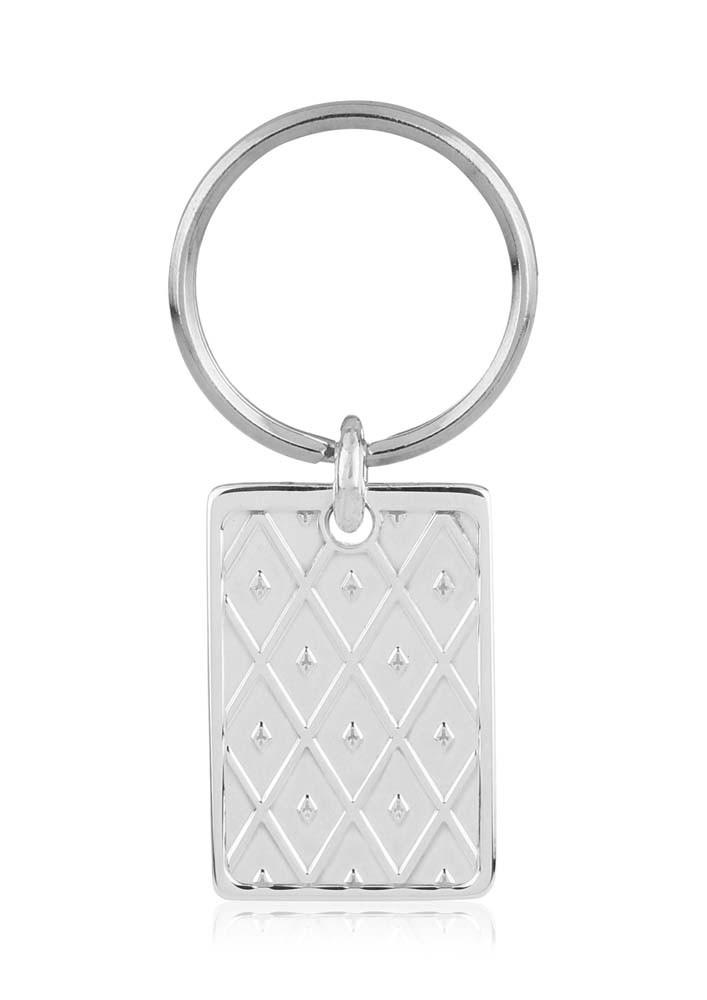 Diamond Engraved Keyring