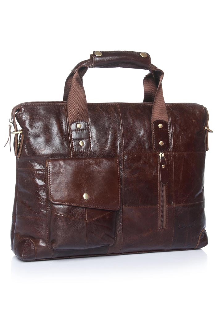Efficacy Leather Briefcase