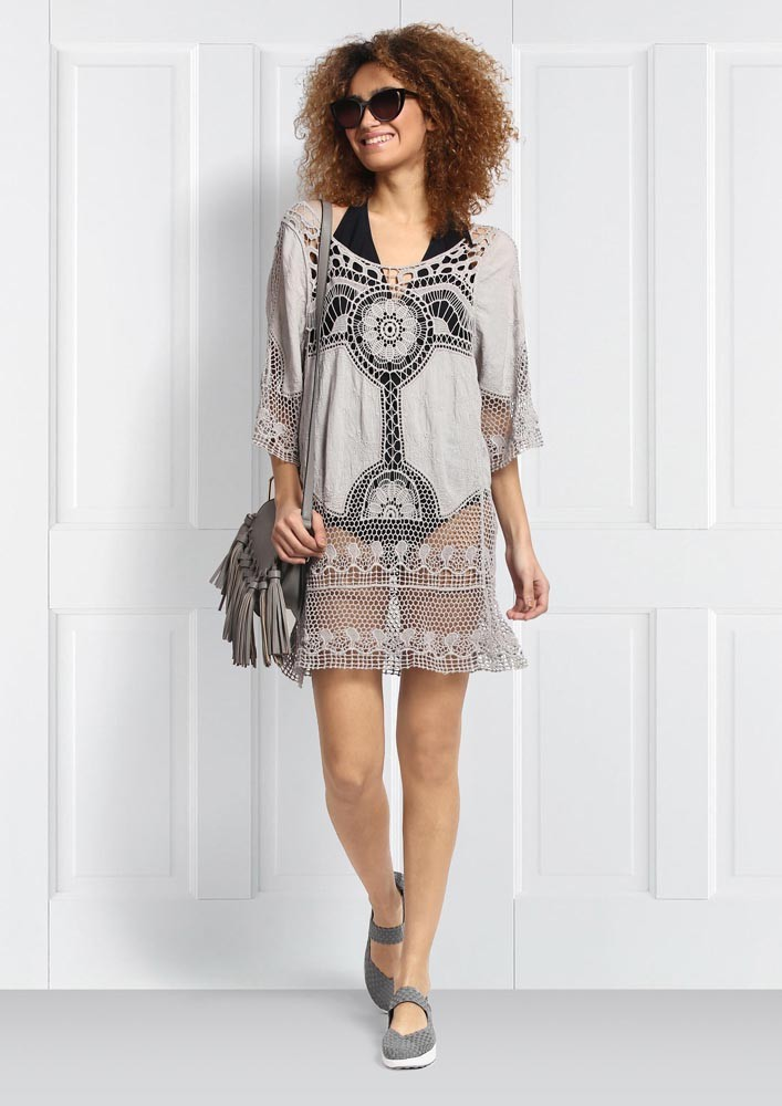 Crochet Cover Up Dress