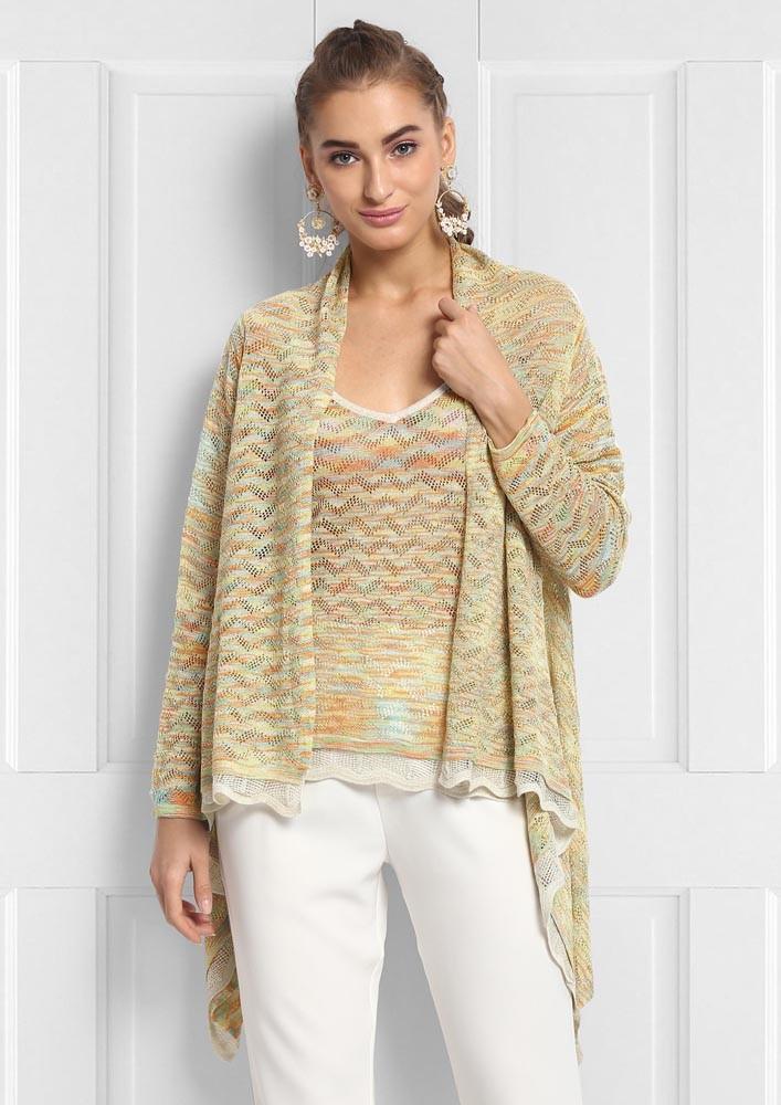 Light the way knit twin set