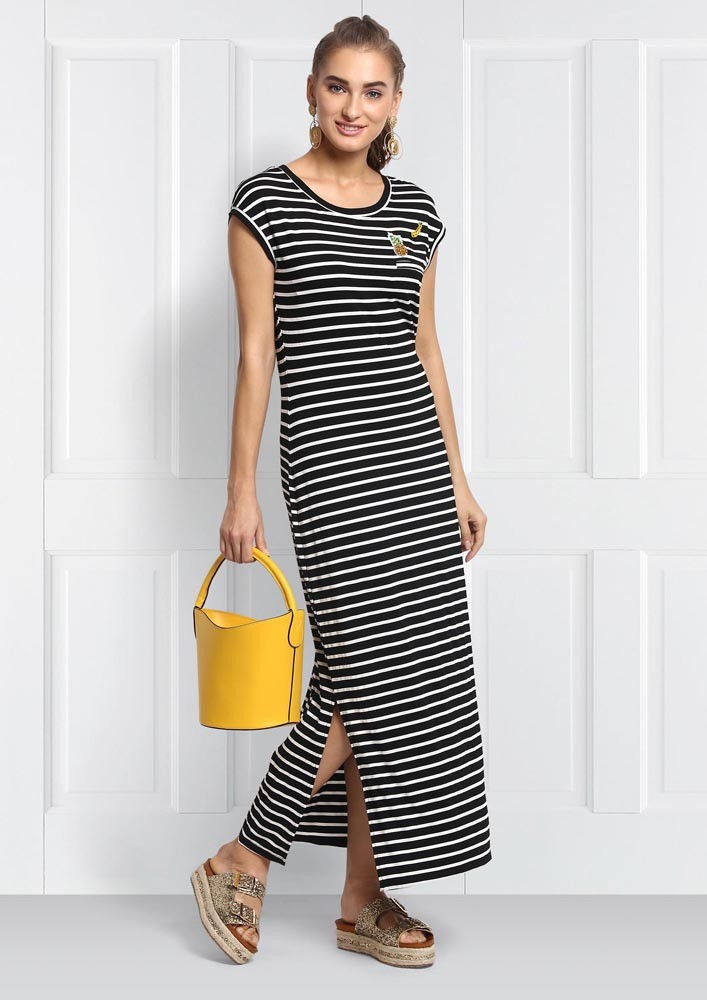 Spotlight on stripes dress