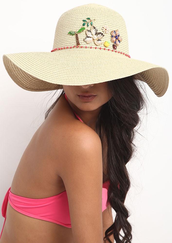 LULU'S OVERSIZED SUNNY STRAW HAT