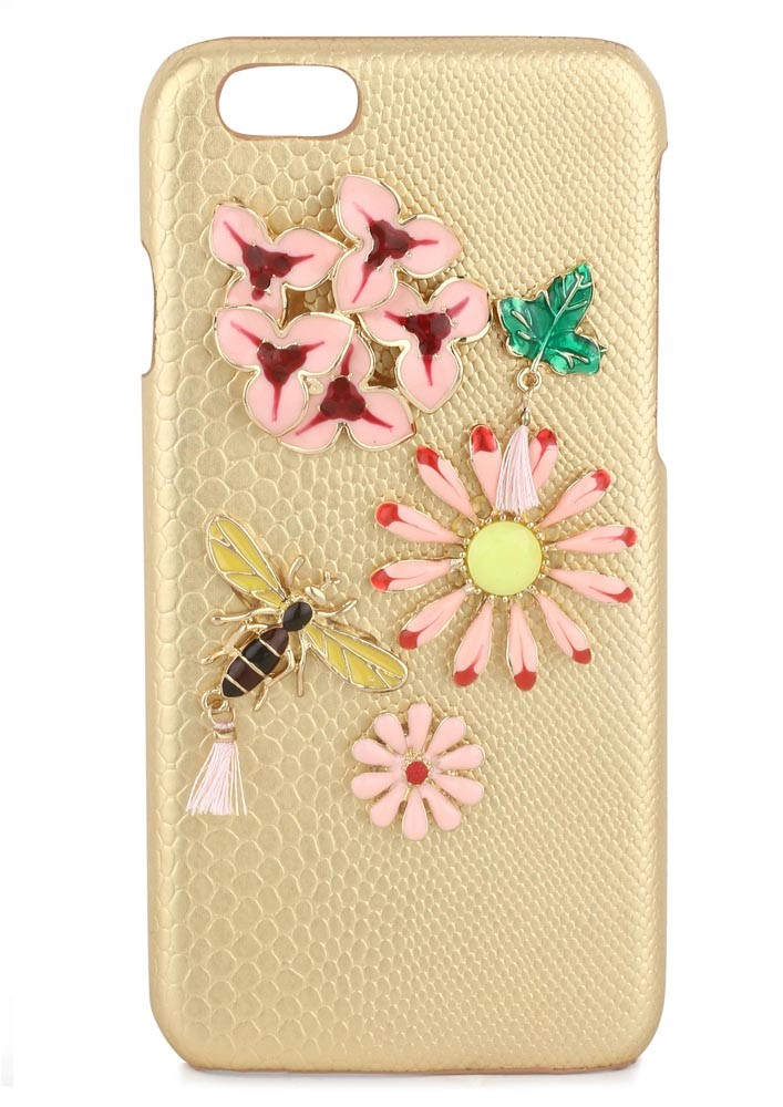 BEE PRETTY CRYSTAL EMBELLISHED IPHONE 6/6s CASE
