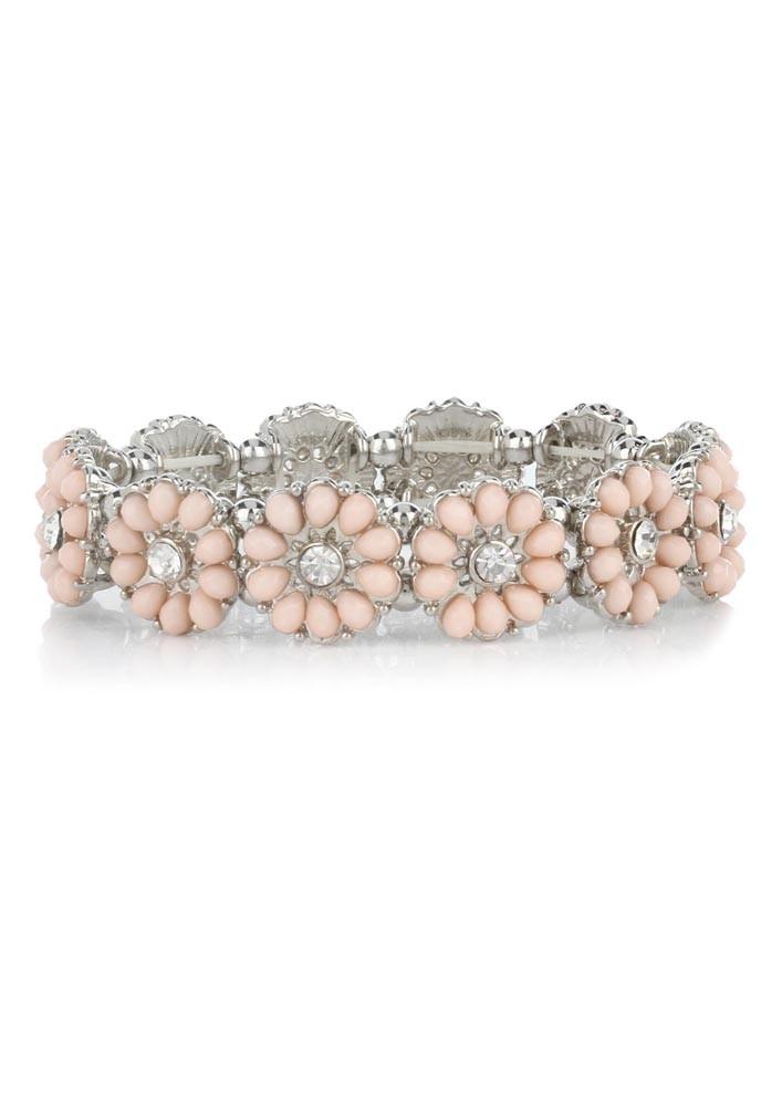 Dancing Daisies Light Pink Bracelet