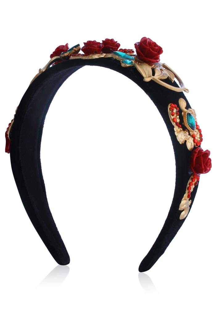 Red Rose Hairband