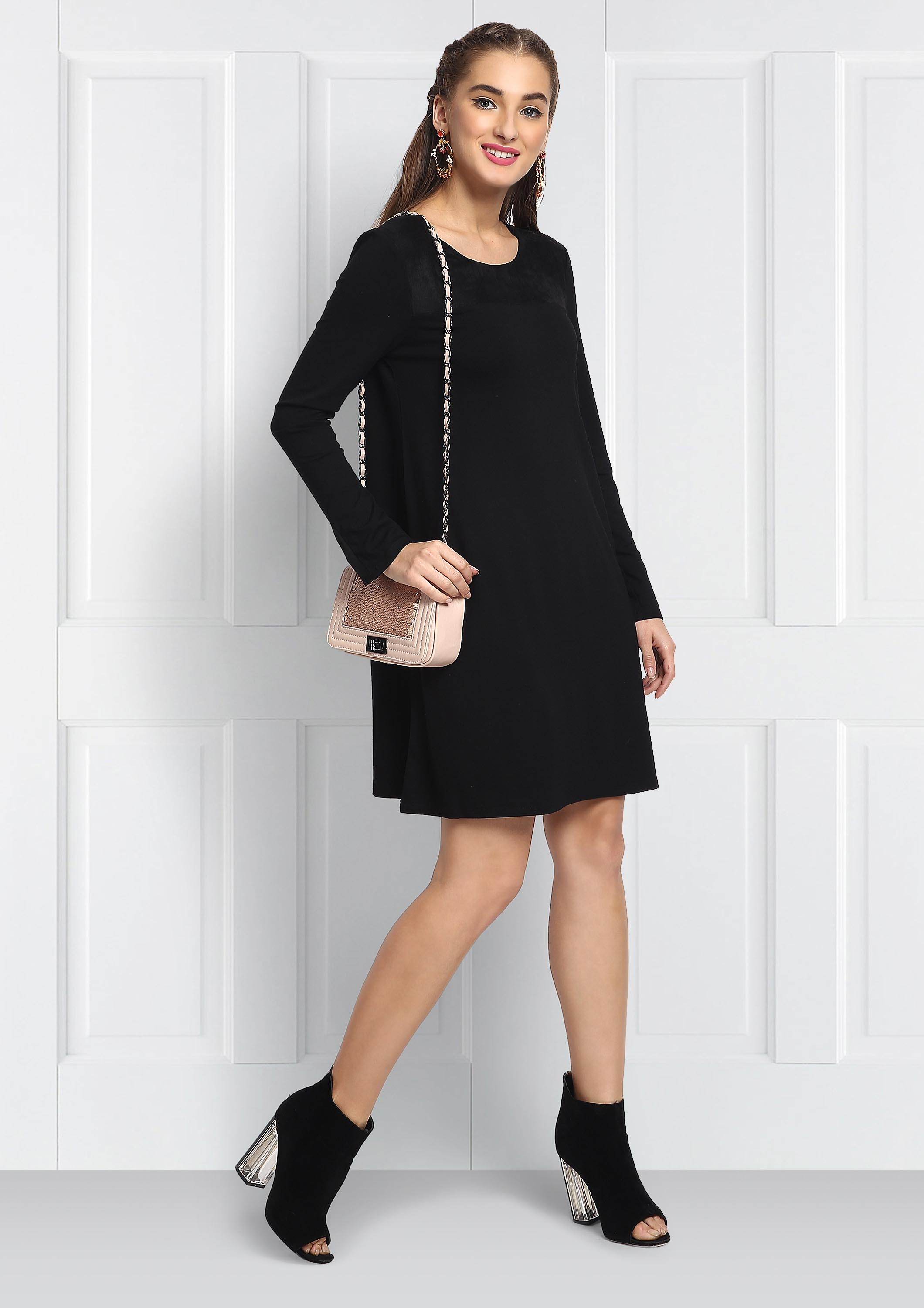 Full sleeve Black Dress