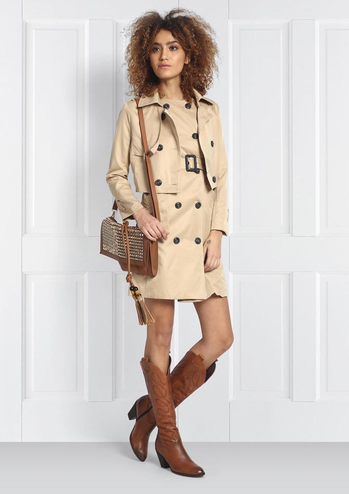 Two way trench Coat