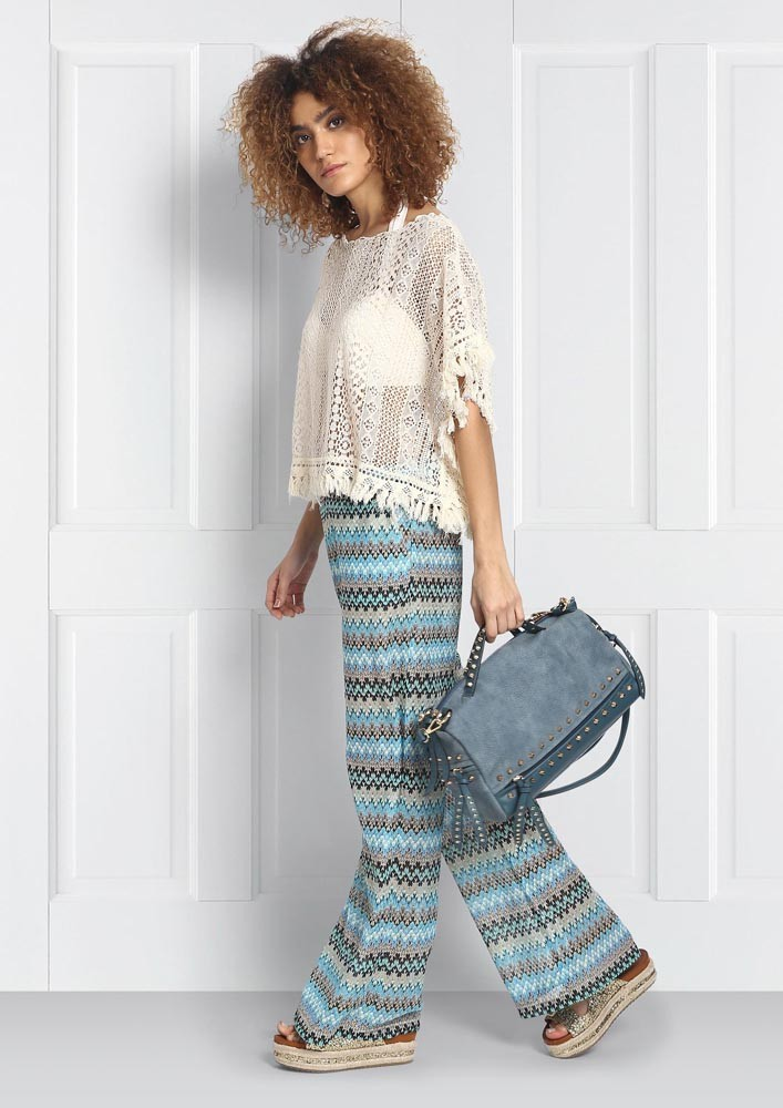 Crochet Poncho Style Cover-up