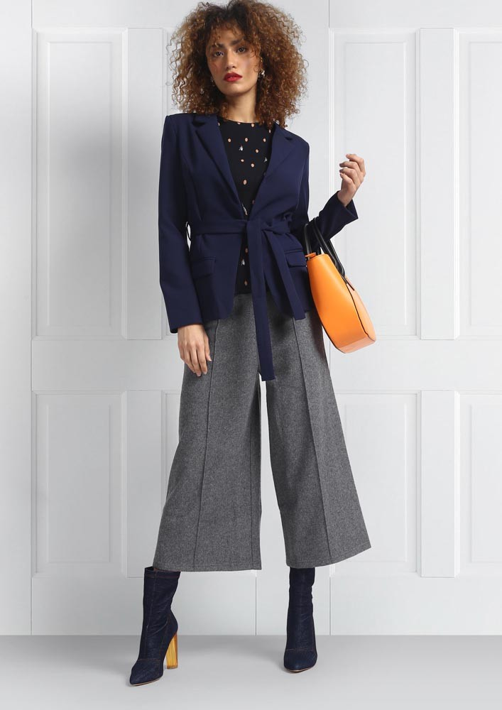 Flannel Grey Trousers