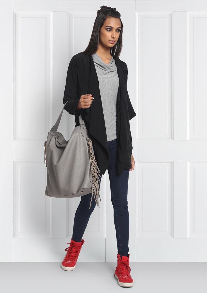 Black Drape Jacket