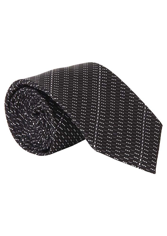 B&W Stripe Tie
